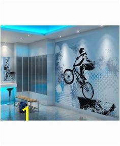 Bmx Biking Wall Mural
