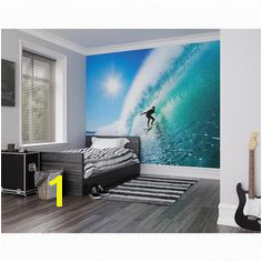 Adrenalin Wall Mural Blue wallpapermuralsoffice Sports Wall