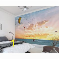 OhPopsi Wind Surfer Wall Mural