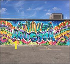 Downtown Houston mural wall graffiti Murals Street Art Graffiti Wall Art Graffiti