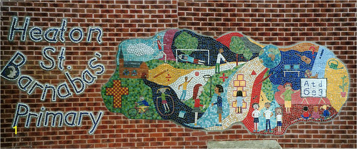 How to Make An Outdoor Mosaic Mural Artist4schools