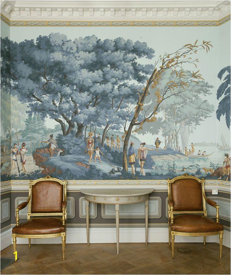Hunting Mural Wallpaper Grisaille Murals Wallpapers Art Screens Part Ii