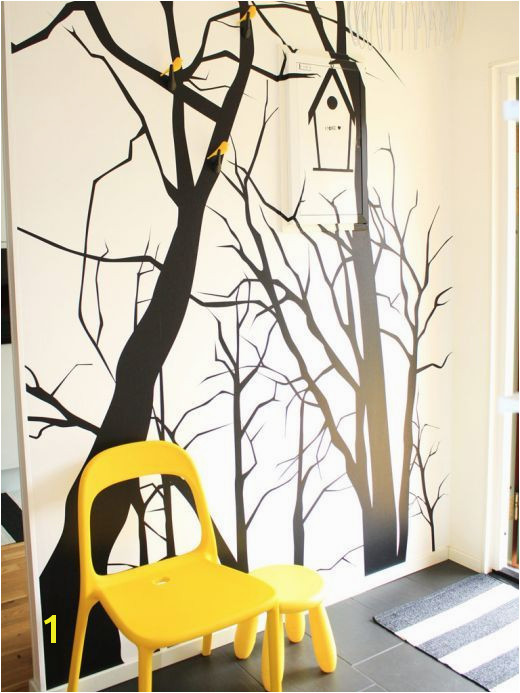Tree Interior Crazy Home Mural Wall Art Wall