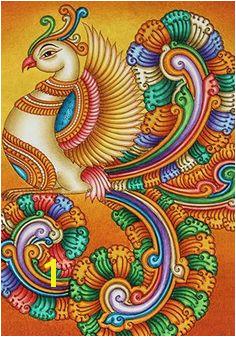 Mural Painting Design 6 Kalamkari Painting Saree Painting Kerala Mural Painting Madhubani Painting