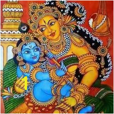 Indian Traditional Paintings Indian Art Paintings Kerala Mural Painting India Painting Tanjore