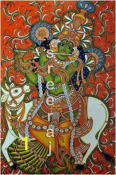 Krishna Deepa Subramanian · kerala mural