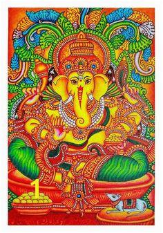 Kerala Mural Painting – Desically Ethnic Kerala Mural Painting Art Mural Art