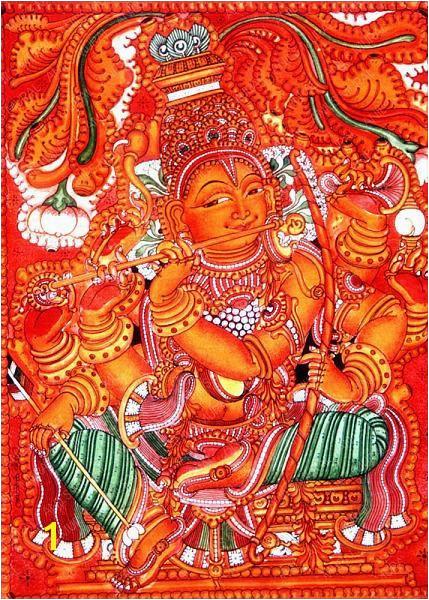 Art Forms India Indian Paintings Mural Art Murals Kerala Mural