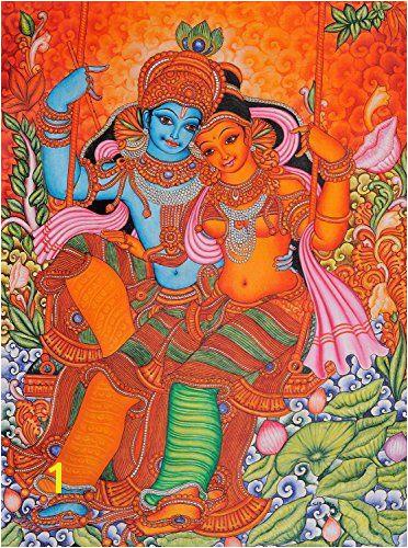 Related image Kerala Mural Painting Madhubani Painting Krishna Painting Music Painting Hindu