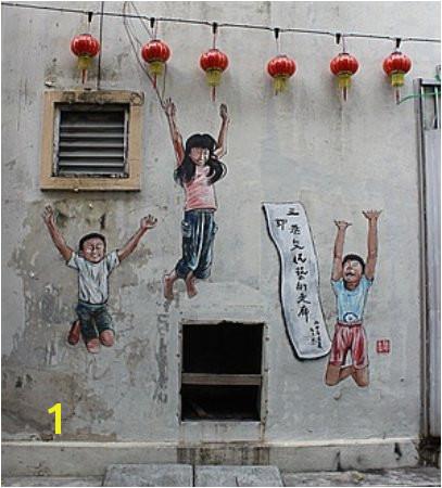 Art of OLDTOWN Ipoh Mural