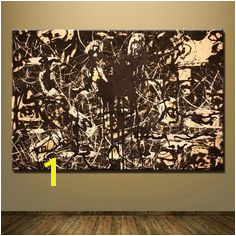 [PRINT CANVAS] Yellow Islands Jackson Pollock