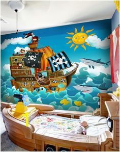 Boys Pirate Bedroom Pirate Bathroom Kids Bedroom Bedroom Murals Bedroom Themes