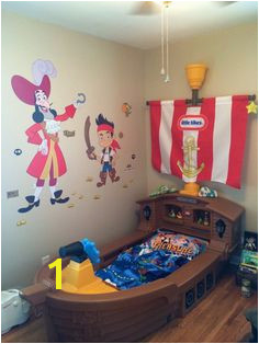 My son s Jake and the Neverland Pirates Room So happy with how it turned out