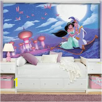 "Mural Roommates Disney Aladdin ""A Whole New World"" XL 7 piece Wall Decal"