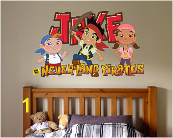"Jake and the Neverland pirates Peter pan Window View Decal WALL STICKER Home Decor Art Mural 18"" 24"" 36"" or 52"" 2"