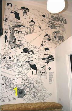 Grafika w komunikacji mural illustration