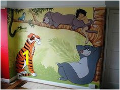 Junglebook Kids Room Murals Bedroom Murals Boys Room Decor Wall Murals Kids