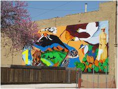 Minnesota Avenue mural in downtown Kansas City KS City Life Kansas City