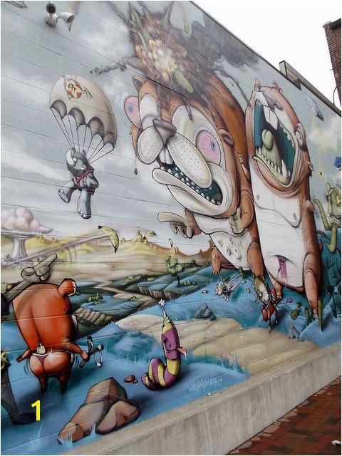 Downtown KCMO by Cori Collis via Flickr Scribe Urban Art Kansas City