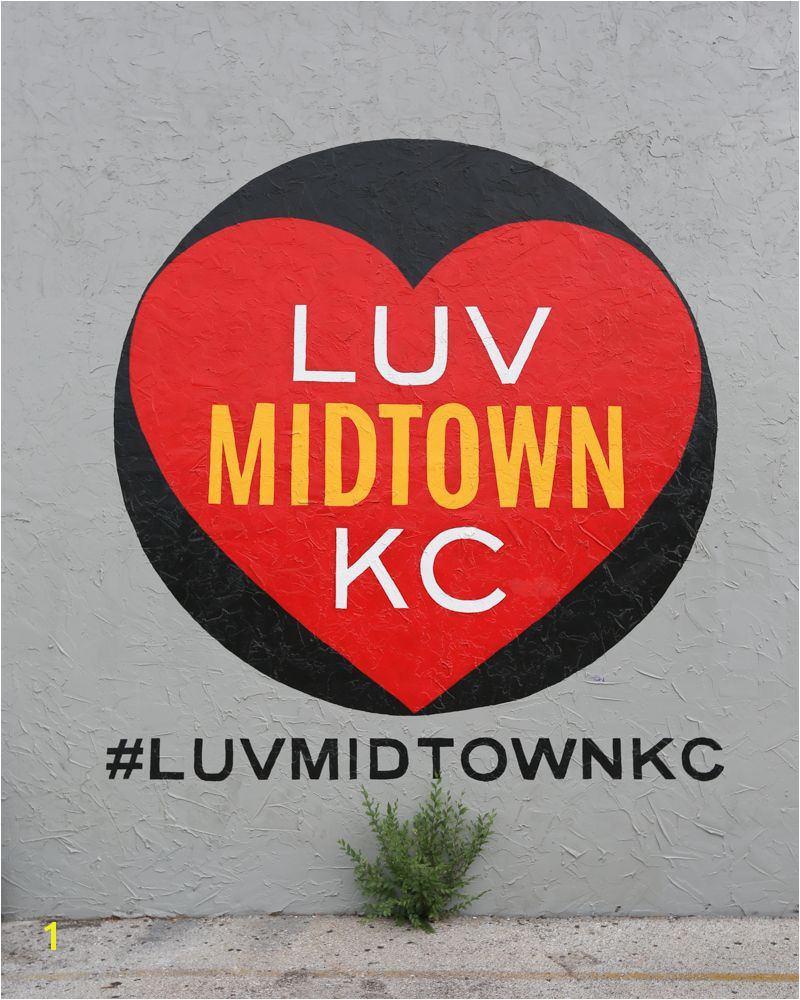 Luv Midtown KC Wall 3945 Main St Kansas City MO