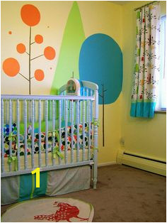 Charlie s Bright Happy Forest Modern Kids Baby Bedroom Kids Bedroom Bedroom Ideas