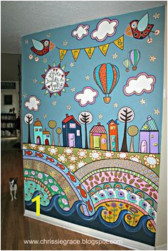 Creative art on wall is always the best form of art CreativeWallFinishes Kids Bedroom