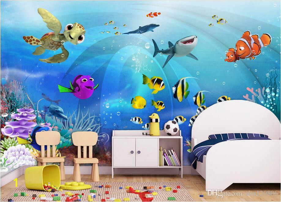 Kids Wall Murals Australia 3d Wallpaper Custom Mural Sea World Children Room Scenery