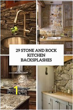 29 stone and rock kitchen backsplashes cover