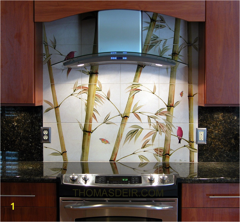 Kitchen Remodel Asian Bamboo Tile Murals – Thomas Deir Honolulu HI Kitchen Remodel Asian Bamboo Tile Murals – Thomas Deir Honolulu HI