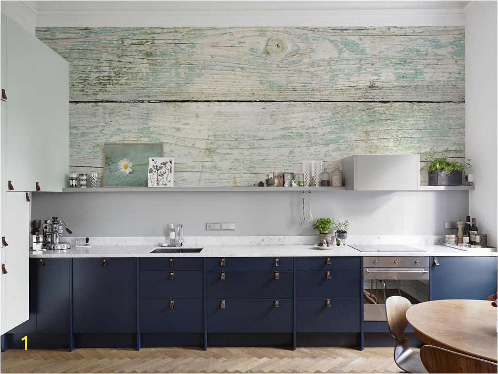 Fancy Wood • Colonial Kitchen Wall Murals Posters Nature Flowers and plants