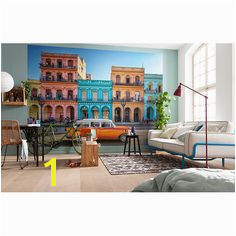 Add breezy style to any room in your home with the help of this Komar Havanna Wall Mural