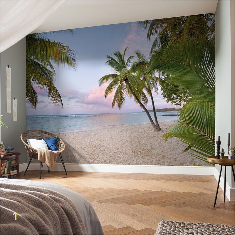"Komar Paradise Morning 12 08 x 98"" Wall Mural"