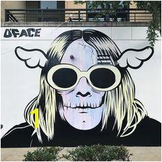 StreetArt Graffiti Mural Donald CobainKurt