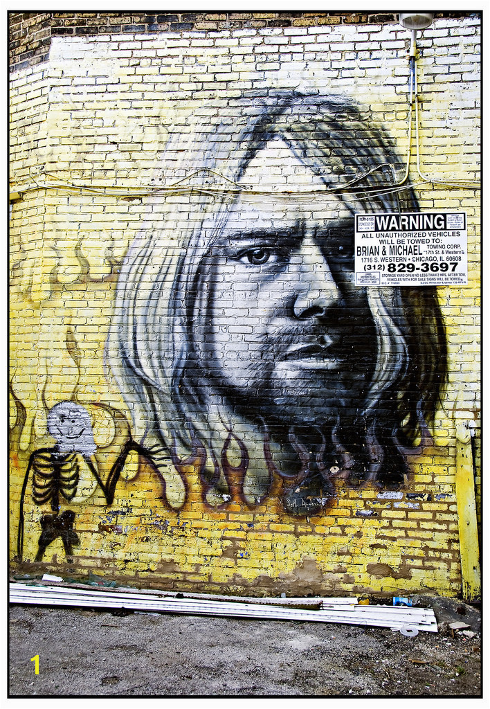Kurt Cobain Wall Mural the World S Best S Of Mural and Nirvana Flickr Hive Mind