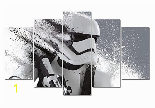 LMPTART TM 60x32inches Print Stormtrooper Star Wars Movie Poster Picture for Living Room Decor Painting