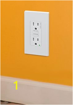 The Leviton SmartlockPro Dual Function AFCI GFCI Receptacle helps protect your home and family from