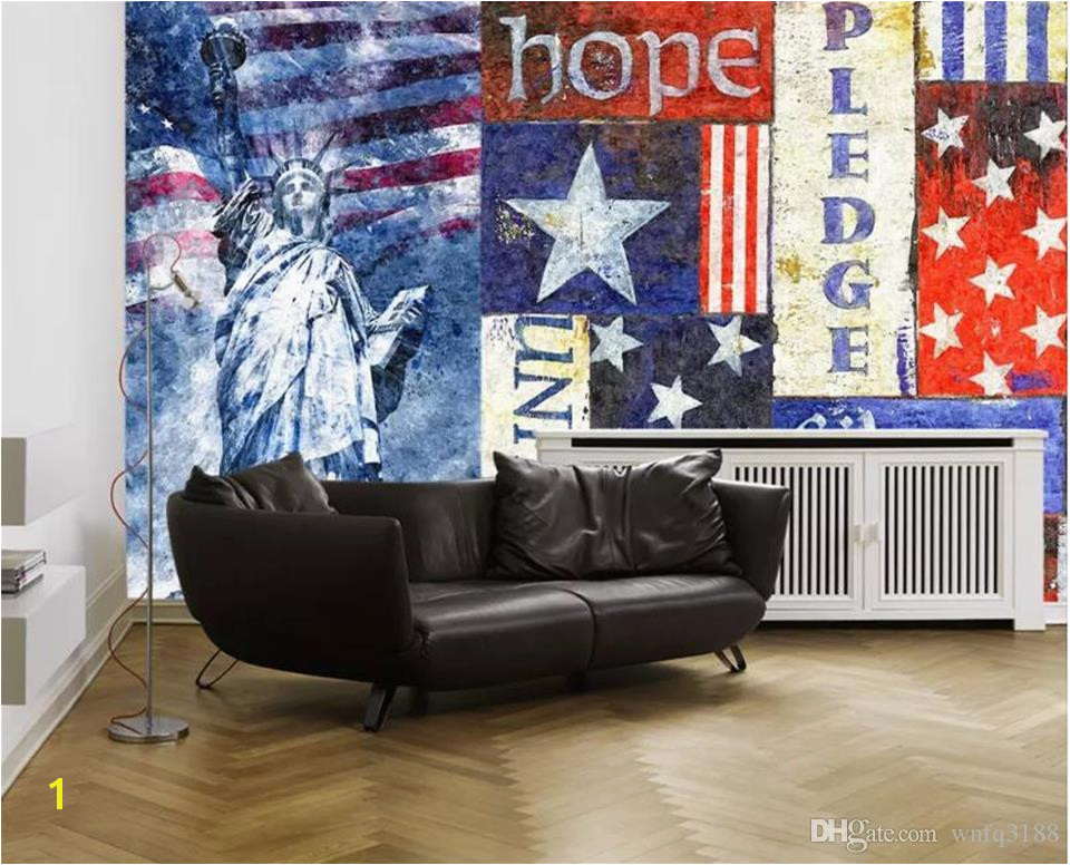 Life Size Wall Murals Custom Size 3d Wallpaper Living Room Mural National Flag