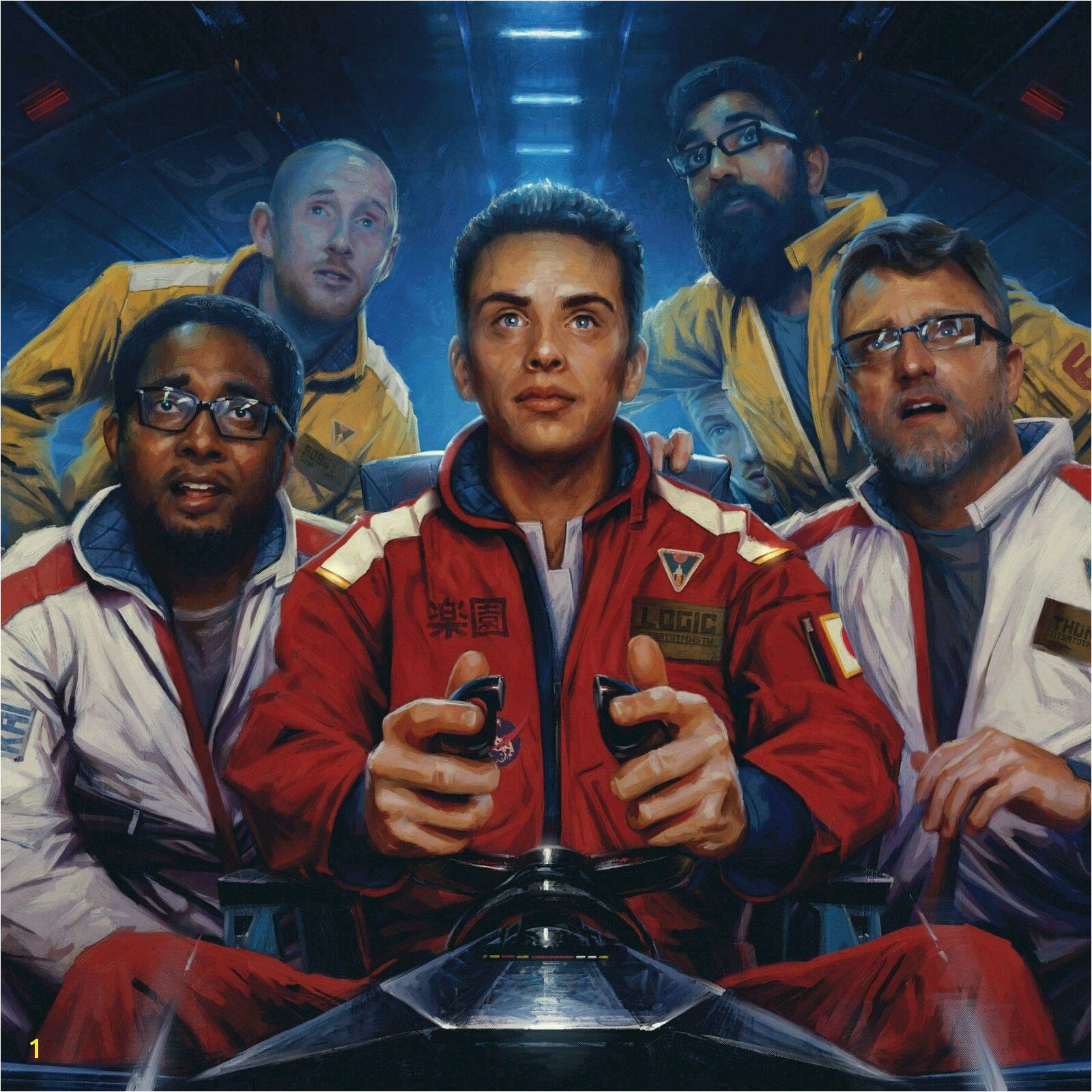 """$11 9 Logic The Incredible True Story Hip Hop Album Cover Art Poster 20""""20 24""""24 32""""32 ebay Collectibles"""
