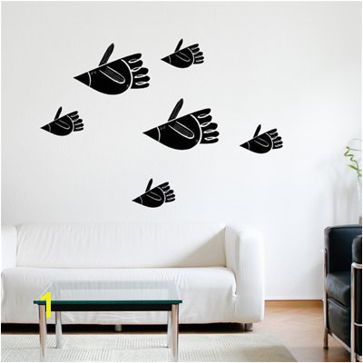 Shop ADzif SPOT Bird Fish Wall Decal at Lowe s Canada Find our selection of wall decals & stickers at the lowest price guaranteed with price match off