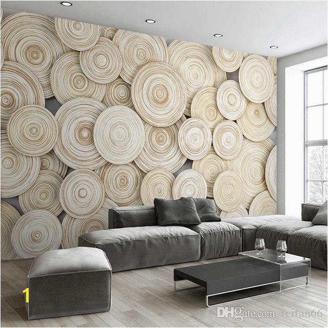 Custom Mural Wallpaper Modern Design 3D Wood Texture Living Room TV Background Wall Decorative Art Wallpaper Mural Wallpapers Download 3d Desktop Wallpaper