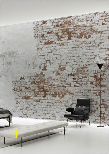 Home Design Inspiration The Urbanist Lab Create your own industrial wall in no time with this Plaster Brick Wall Wallpaper Mural by Behangfabriek