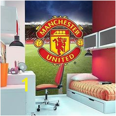 Decorline Manchester United Wall Mural FIN0005 Man Utd MUFC Football Wallpaper for sale online