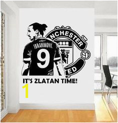 manchester united logo wall stickers Boys Soccer Bedroom Boy Room Kids Bedroom Bedroom