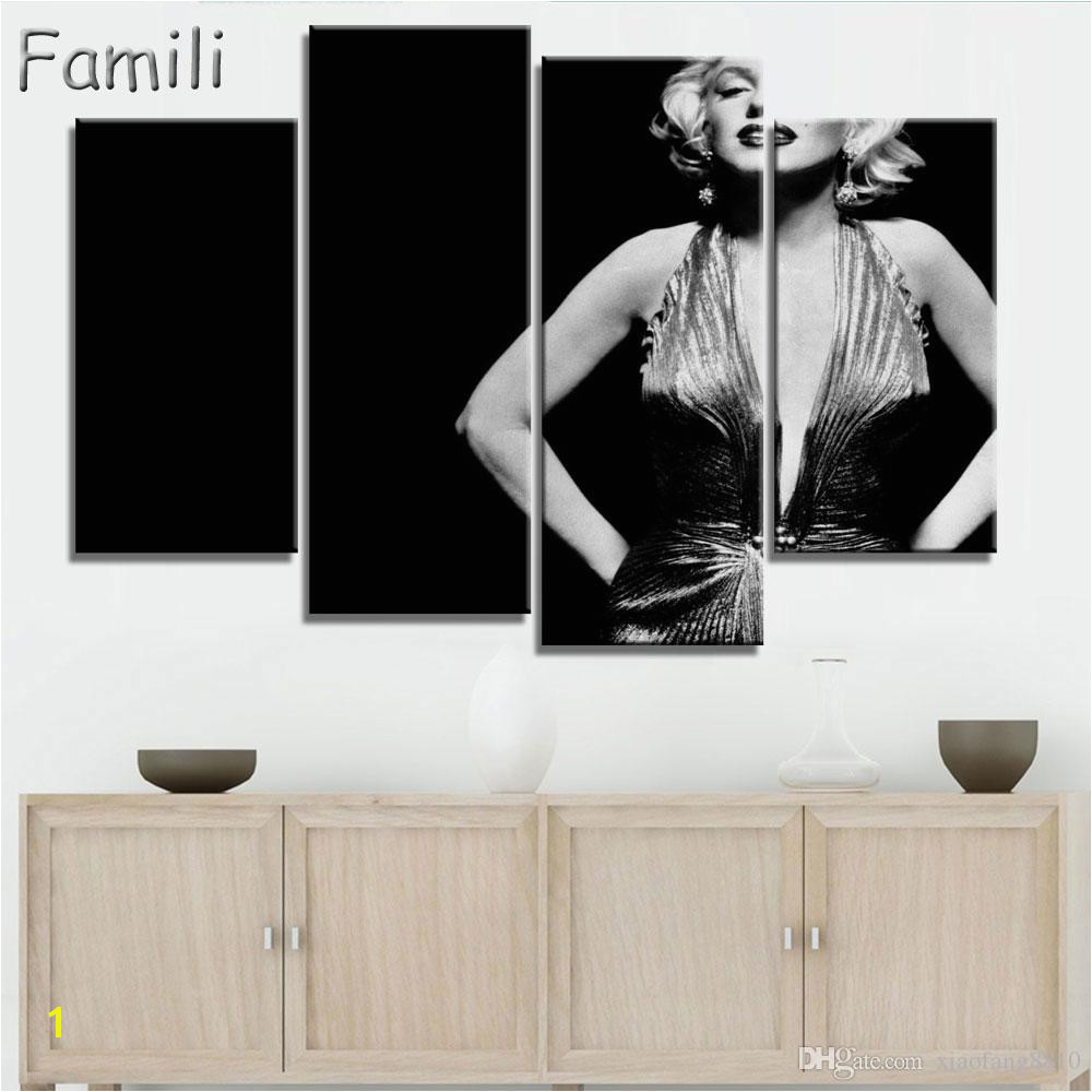 2019 Canvas Painting New Sets Canvas Art Marilyn Monroe Canvas Wall Art Painting Decoration For Home Abstract Figure From Xiaofang8810 $7 98
