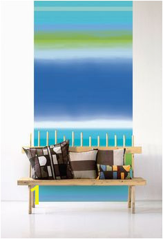 Cleverly packaged in easy to carry boxes Marimekko Murals are sold in two piece panels that join to her to create a full pattern