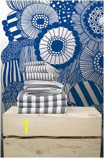 Marimekko wall mural Kiitos Living By Design Barwon Heads May 2012 New Wallpaper