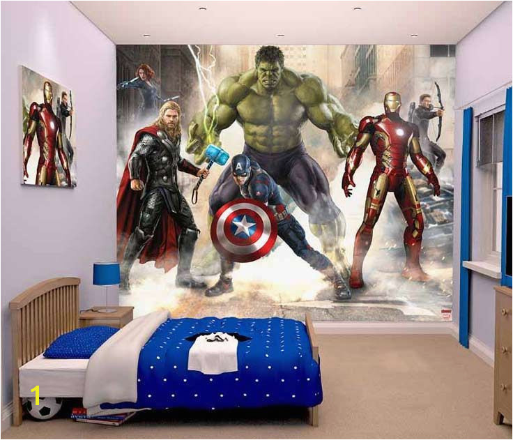 Take a closer look at this Walltastic new Avengers wallpaper mural Costing less than £45 and looks amazing e in a see what else we have for childrens