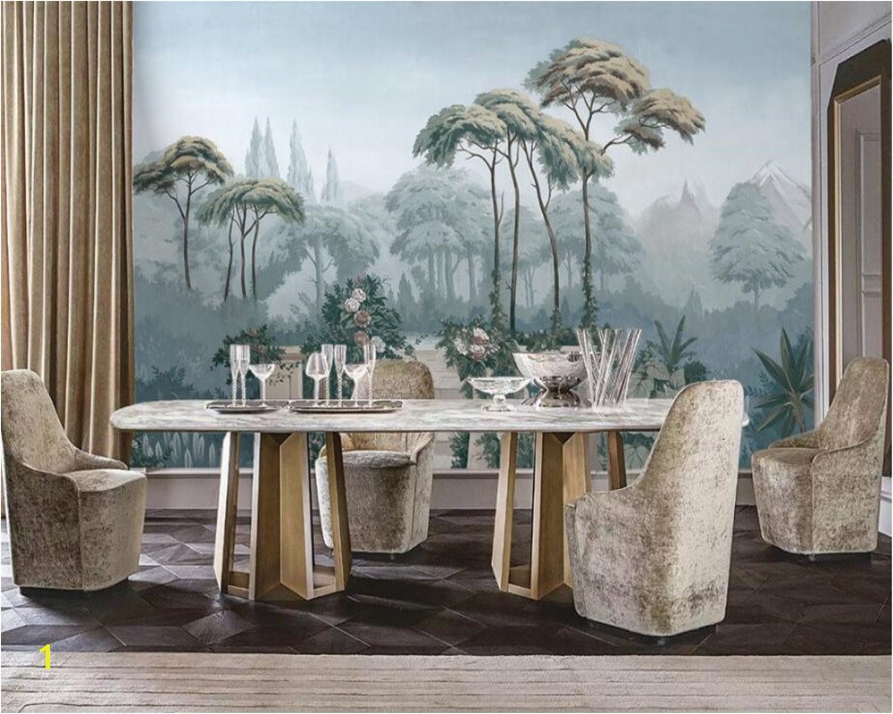 Medieval Wall Murals Beibehang Custom Wallpaper European Garden Hand Painted Me Val