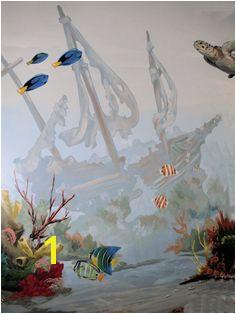 undersea mural mural idea as seen on