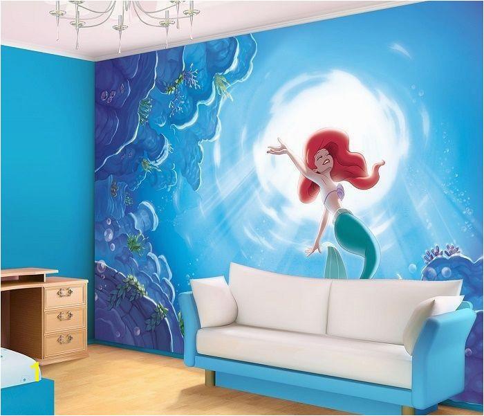 Mermaid Mural Ideas 30 Cute Mermaid themed Girl Bedroom Ideas Bedroom Ideas